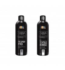 Zestaw do czyszczenia tapicerki ADBL Pre Spray PRO + ADBL Textile Rinse 2 x 500 ml