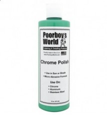 POORBOY'S WORLD CHROME POLISH 473ML