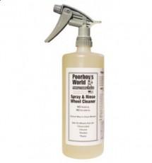 POORBOY'S WORLD SPRAY & RINSE WHEEL CLEANER