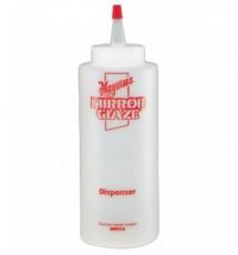 MEGUIAR'S MIRROR GLAZE DISPENSER BOTTLE Plastikowa butelka z dozownikiem, pojemność 355ml