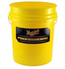 MEGUIAR'S PROFESSIONAL WASH BUCKET - YELLOW Profesjonalne wiadro do mycia auta 18,9 l