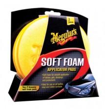 MEGUIAR'S SOFT FOAM APPLICATOR PAD 2-PAK Aplikator piankowy 2-pak.
