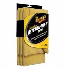 MEGUIAR'S SUPREME SHINE MICROFIBER TOWELS 3-PACK Ręczniczek z microfibry do czyszczenia i polerowana (3 sztuki)
