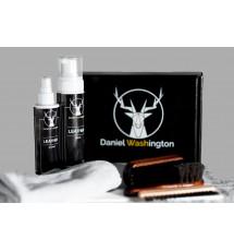 Daniel Washington LEATHER CLEAN/PROTECT- profesjonalny zestaw do czyszczenia i impregnacji skóry.