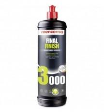 Menzerna 3000 Final Finish wykańczająca pasta polerska twarde lakiery 1L